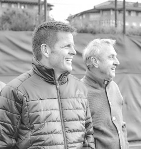 Todd Beane with Johan Cruyff