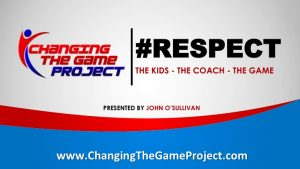 "Check out our new video series ""Respect the Kids, Respect the Game"""