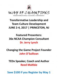 click to learn about the way of champions conference